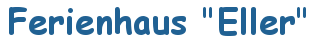 Ferienhaus Eller Logo